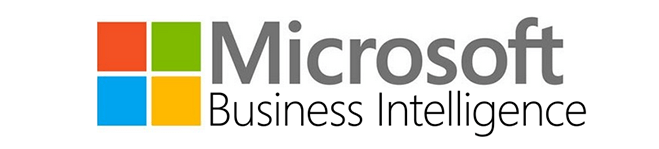 New MS BI Logo